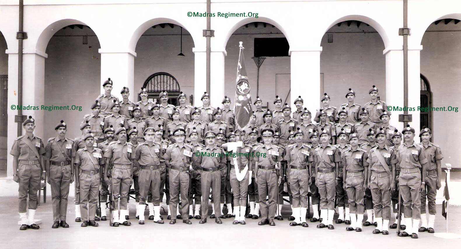 1970 - 3 Madras contingent at MRC